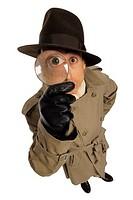 Detective, portrait