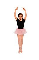 Young girl - ballerina, portrait