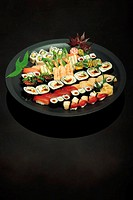 Japanese food: sashimi & sushi