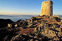 Watch tower. Formentor cape. Majorca, Balearic Islands. Spain