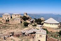 Bizen monastery (2400m altitude). Eritrea