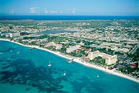 Palm Beach. Aruba, Dutch Caribbean