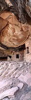 Mule Canyon Anasazi Indian ruins. Cedar Mesa. Utah, USA