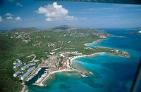 Sapphire Beach resort and marina, St. Thomas, US Virgin Islands. West Indies, Caribbean