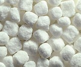 Cane white sugar lumps