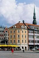 Doma Laukums (Dome Square), old town. Riga, Latvia