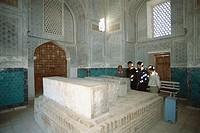 Gumbaziseidan mausoleum. Shakhrisabz. Uzbekistan.