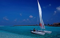 action, Catamaran, Catamaran near maledives island, diving, holiday, holidays, Indian ocean, Kuredu, Lhaviyani Atoll