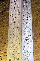 antique, antiquity, at night, culture, Egypt, North Africa, Hieroglyphen, Luxor, night, obelisk, temple, Thebes