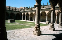 Patio of Minor Schools (1533). Salamanca. Spain