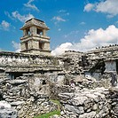 Mayan ruins. Palenque. Chiapas. Mexico