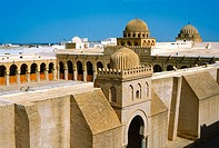 Mosque in Kairouan, Tunis