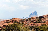 ShipRock peak. New Mexico, USA