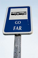 Go far, bus stop