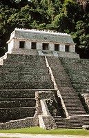 Temple of the Inscriptions. Palenque. Chiapas. Mexico