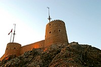 Mutrah fort in Muscat, Oman