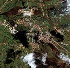 Gornji Vakuf, Bosnia-Herzegovina. Satellite image of Gornji Vakuf, a small town in Bosnia- Herzegovina, Eastern Europe. Image taken on 15 April 2001 b...
