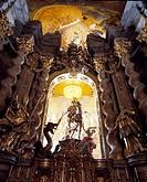 Weltenburg, Klosterkirche/ ´´Georg siegt über den Drachen´´´´