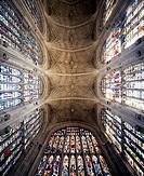 Cambridge, King´s College Chapel/Gewölbe im westlichen Langhaus