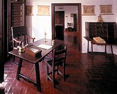 Valladolid/ Casa de Cervantes, Arbeitszimmer 1603-1608