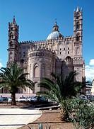 Palermo, Kathedrale/ Ostansicht