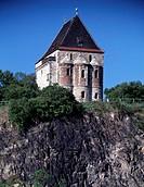 Landsberg bei Halle, romanische Doppelkapelle/ Ostansicht