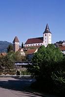 Gernsbach, Liebfrauenkirche/ Außenansicht