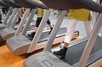 rimini, fitness fair, moving walkway