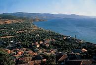 greece, lesbos island, molivnos