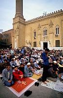 africa, egypt, cairo, saiydana el husain mosque