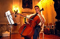 italy, tuscany, siena, chigiana academy, violoncello lesson