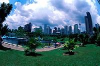 Kuala Lumpur City Centre Park, Malaysia