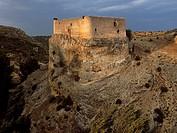 Castle, Arbeteta. Guadalajara province, Castilla-La Mancha, Spain