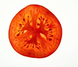 Slice of tomato