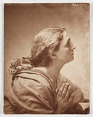 ´I Pray´, c 1860s.Photograph by Oscar Gustav Rejlander (1813-1875).
