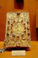 Moscow, Russia, Treasury Museum, Kremlin, Bible Covers, gold, silver, diamonds, precious stone.