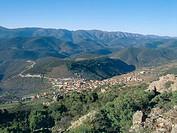 Solana del Pino and Sierra Madrona. Ciudad Real province, Castilla-La Mancha. Spain