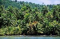 Huahine. Leeward Islands, French Polynesia