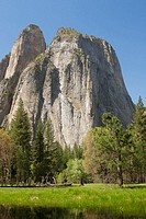 Cathedral Rocks. Yosemite NP, California, USA. Spring, 2004