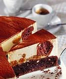 Tiramisu muffin cake