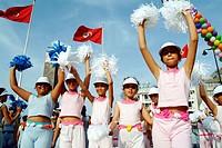 Parade. Tunisia.