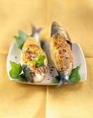 Sardines with mustard