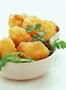 Camembert potato croquettes