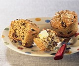 Rasisin cereal muffins