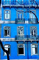 Apartment building in Lisbon, Portugal