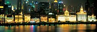 The Bund from Pudong, Shanghai, China