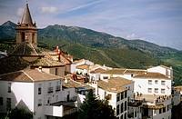 Zahara de la Sierra. Cádiz provincia, Andalusia. Spain
