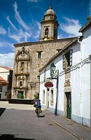 Convent of San Francisco (16th century), Lugo. Road to Santiago, Galicia. Spain
