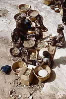 Women. Dogon country. Mali.