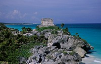 Tulum archaeological site, Mexico